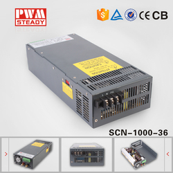 24 mounth warranty 1000w 36v 30a ac dc switching power supply 36v 1000w switch mode power supply