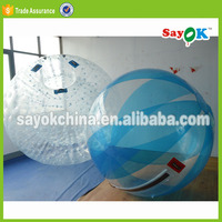 inflatable human water bubble ball person inside walk on water plastic ball