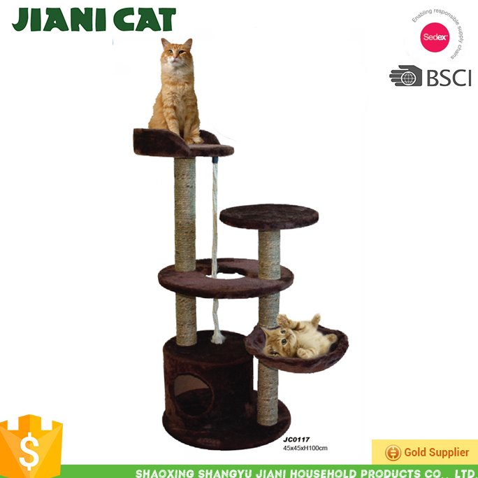 2017 top- selling Cat scratching post , banana leaf cat tree,cat scratching post