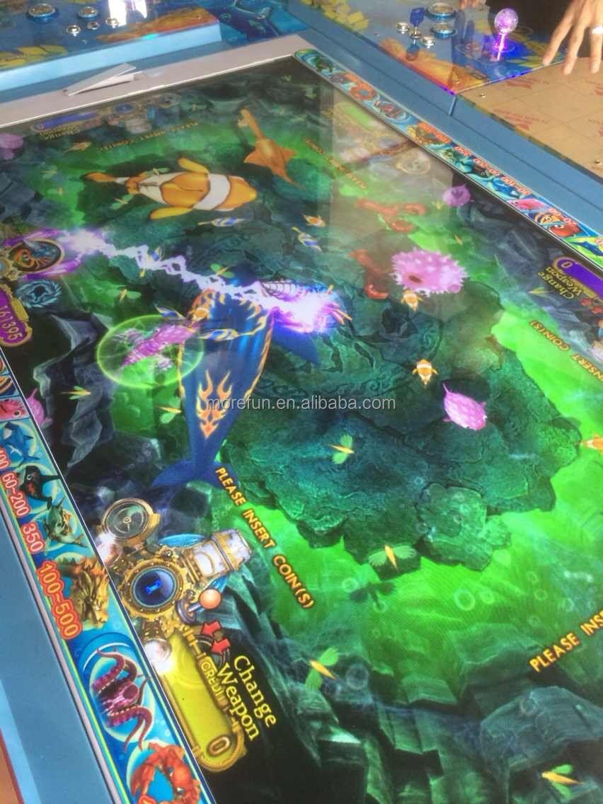 6 8 p original yuehua igs game board ocean star ocean king for Fish and game table