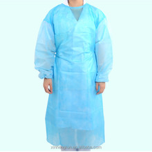 Xinhengrun OEM Non-woven/PP/SMS Medical Clothing Sterilized Disposable Surgical Gown