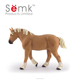 Semk factory cute small animal horse plastic anime figurines wholesale