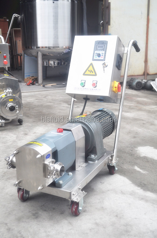stainless steel tomato sauce transfer pump