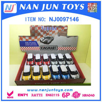 Hot Sale 1:32 Scale Alloy Pull Back Mini Cooper Model Car Toys For Kids