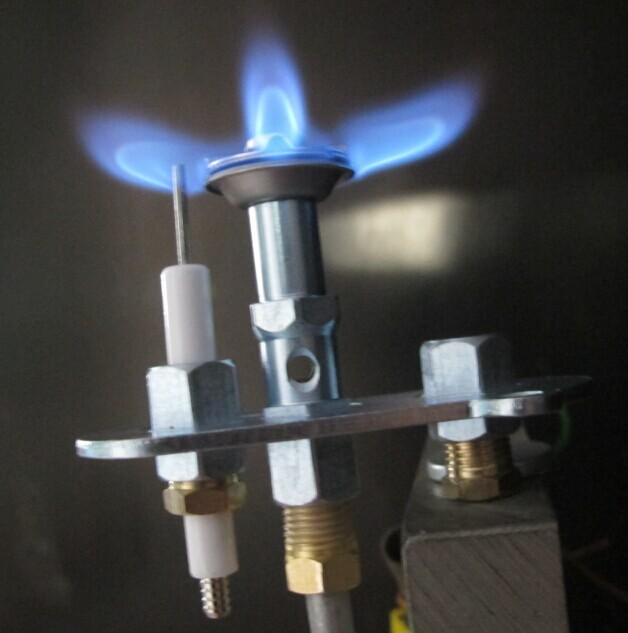 Ods gaz veilleuse allumage pilote d tecteur de flamme for Chauffe eau gaz instantane sans veilleuse