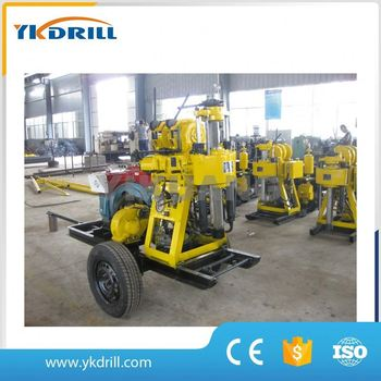 1200m deep dth air drilling rig machine for water well drlling equipment