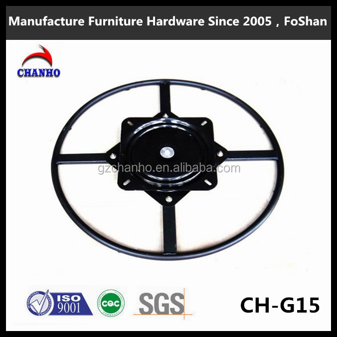 Manufacturer Supply Ball Bearing Swivel Plate,Flat Lazy Susan Bearing CH-G15-5
