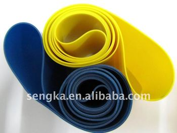 exercise rubber latex aerobic resistance bands,elastic band