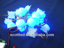 45mm diameter 20 pixel a string,3pcs 5050 with ws2801 ic,programable address dmx rgb smd led module