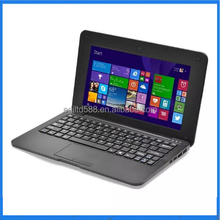 Cheap Computer 10 inch Netbook Win10 Notebook EPC 1G/16G Quad Core Laptop WIFI English Russian Spainish keyboard