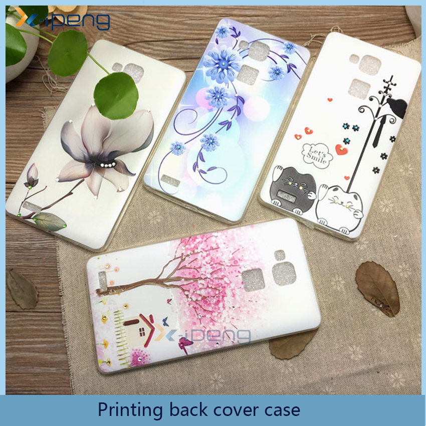 Custom printed Pattern Tpu soft mobile phone back cover unbreakable case for samsung galaxy s4