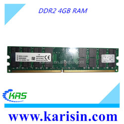 Fast delivery 800mhz pc2-6400 desktop 4gb ddr2 ram stick