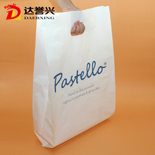 hanging custom printed picture and logo plastic bags