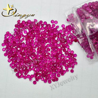 Mico Pave Setting Gems Untreated Natural Ruby Samll Size Round 1.2mm Naturl Ruby