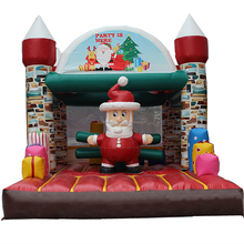 2017 Hot sale Christmas Inflatable Jumping Bouncy Castle inflatable bouncer