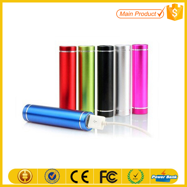 Hot Sale Innovative Products Portable Power Bank 2600mah