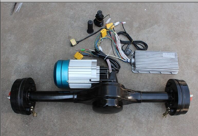 DC Brushless Motor and Controller Electric Rickshaw Spare Parts Price List
