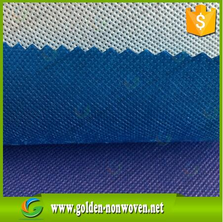 blue color TNT nonwoven geotextile for sofa from Quanzhou Golden names of textile company