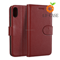 New product PU leather wallet mobile phone case for iPhone X