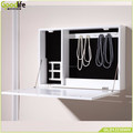 New design furniture wall mount mirror jewelry cabinet from goodlife