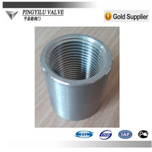 Pipe fitting carbon steel female threaded nipples