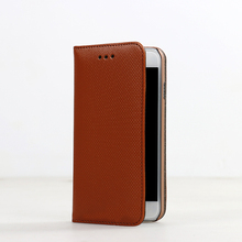 For iphone 5/5s good quality leather flip cover dustproof cellphone case