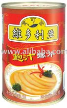 Sliced Topshell in Abalone Sauce Canned Seafood