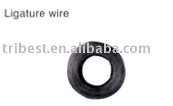 Orthodontic ligature wire