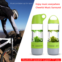 2017 Special Design Water Bottle Bluetooth Speaker Loud Speaker for car With Manufacturer Price