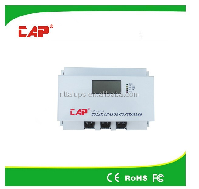 CAP LM-series D 60V / 120V Auto adjust MPPT solar charge controller 10A to 100a