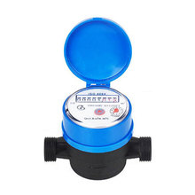 Dry-dial single jet domestic water meter DN15-25mm