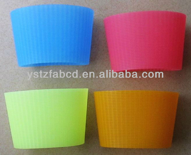 2013 silicone coffee cup sleeve, silicone cup holder