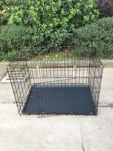 6 Sizes Foldable Metal Dog Cage, Dog Crate, Dog House Easy to Carry