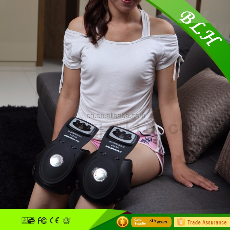 Electronic Knee <strong>Massager</strong> with heating for Total Body Pain Relief & Massage Therapy - Muscle Stimulator for Back Pain