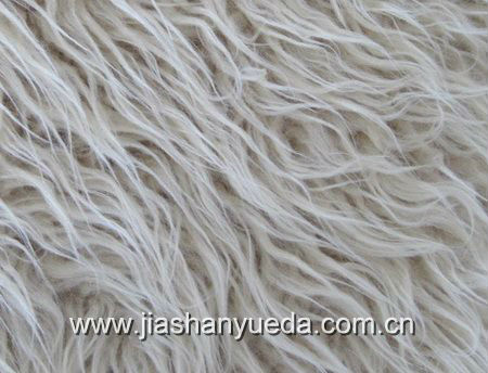 long pile faux fur for fashion garments