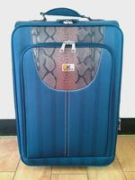 Hot Sale Cheap Fabric Trolley Luggage UAE and AFRICA Low Price Travel Suitcase, OEM Four pcs set