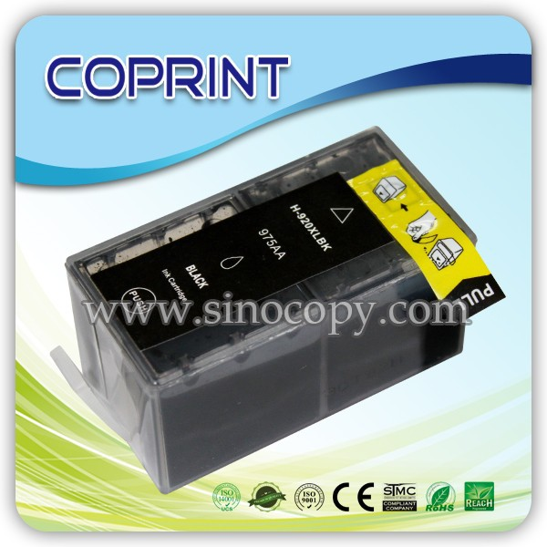 Compatible refill ink cartridge for hp 655 920 inkjet printer Deskjet Ink Advantage 3525 4615 4625 5525 6520 6625