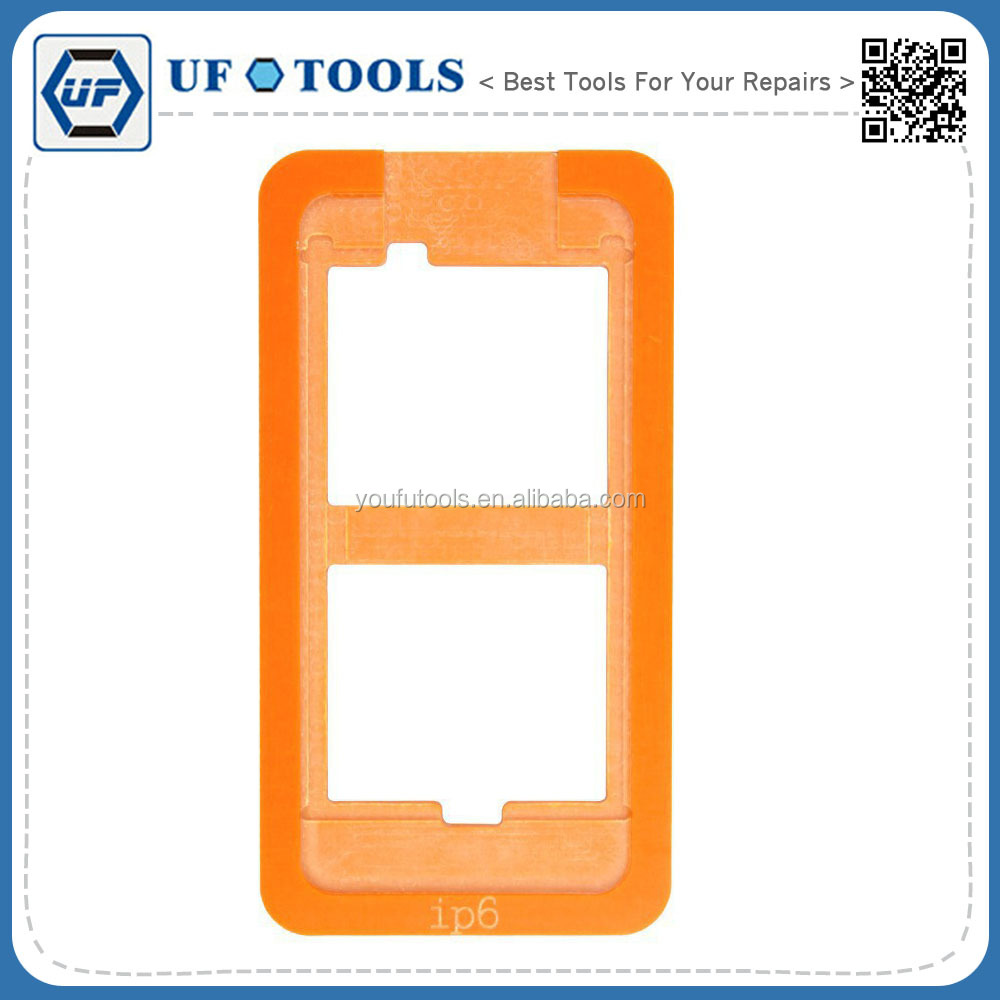 Touch LCD Screen Mould Holder ,Refurbish Wooden Template Mould for iPhone6