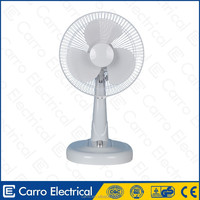 High rotation speed 12inch dc motor table fan computer usb table fan