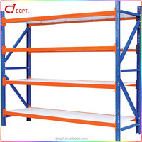 Plastic display shelving