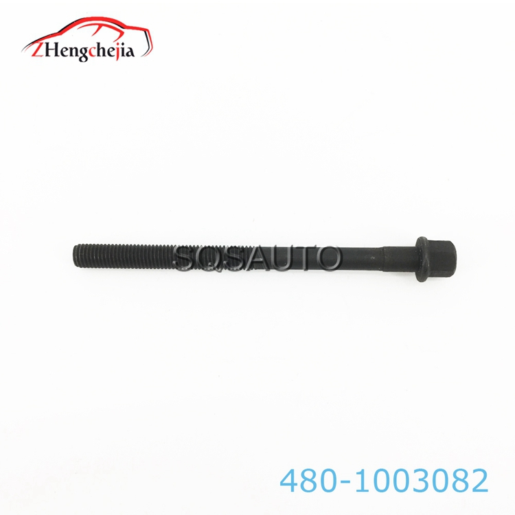 China Auto Parts Engine Cylinder head bolt For Chery 480-1003082