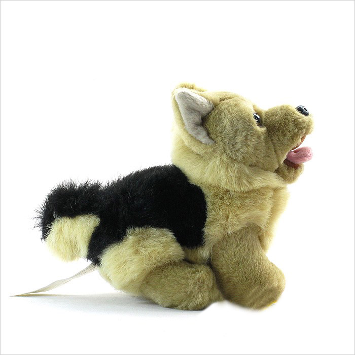 Valentines mechanical stuffed dog toy for promotional gift