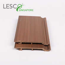 Exterior Natural Longer Life Time Weatherproof Anti-Slip Wood Wpc Wall Cladding for Balcony