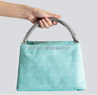 Promotional Aluminium Foil Insulated Tote Lunch Bag Thermal Food Cooler Bags