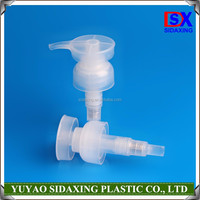 cosmetic plastic water soap dispenser bottle pump
