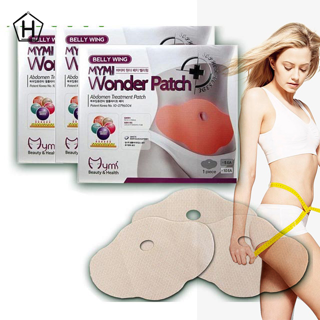 18 pcs /lot model favorite MYMI wonder slim patch for leg body slimming patch