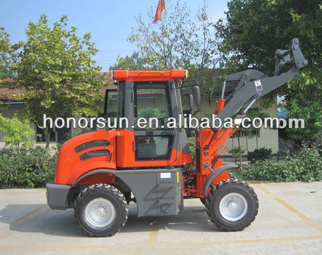 1.5 ton QG15Fwheel loader with xinchai 498 EURO III engine and CE certification for hot saling