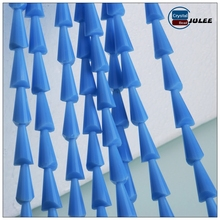 Wholesales crystal beads Nature color tower shaped glass beads crystal jewelry beads making machine