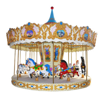 Amusement rides musical merry go round kids carnival games for sale