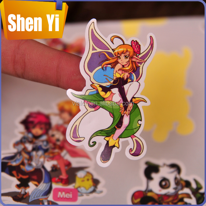 Good-selling packaging for nail stickers adhesive letters stickers